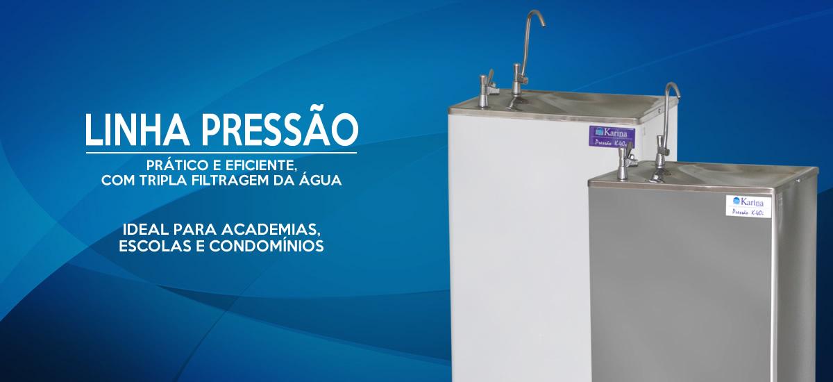 Bebedouro Purificador Industrial Refrigerado De Coluna Inox em São José do Rio Preto